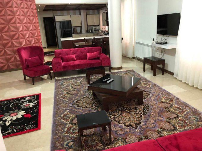 اجاره آپارتمان مبله لوکس در تهران ولنجک